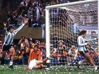 Mario Kempes comandou seleção argentina na Copa de 1978