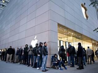 Filas para comprar iPad Mini em novembro foram menores do que as de outros lançamentos da Apple