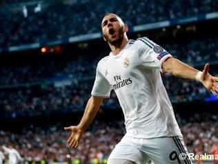 Benzema foi o herói do Real diante do atual campeão da Liga