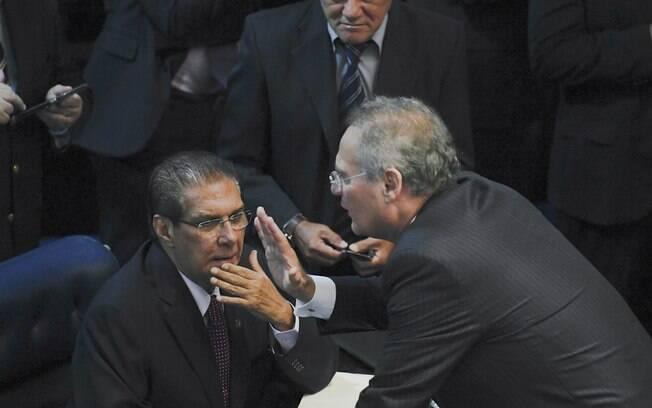 Renan Calheiros e Jader Barbalho estão livres das acusações de Nestor Cerveró
