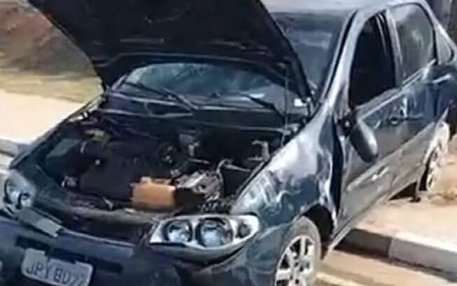 Acidente entre veículos deixa três pessoas feridas em Hortolândia