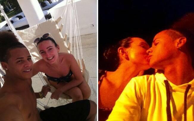Heather e Adenis namoravam há mais de um ano