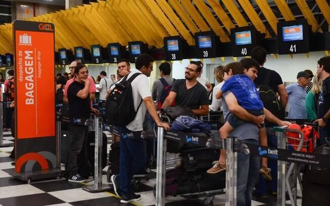 Congonhas está na lista de aeroportos da Gol onde o Stopover será possível de ser realizado