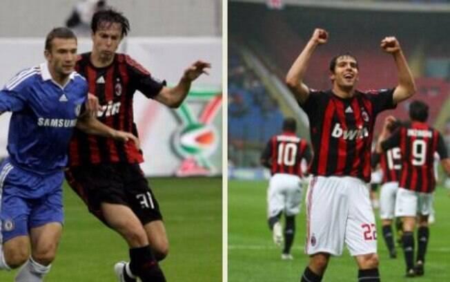 O zagueiro Digão se transferiu ao Milan em  2005 e virou companheiro do irmão Kaká, que saiu  do time em 2009