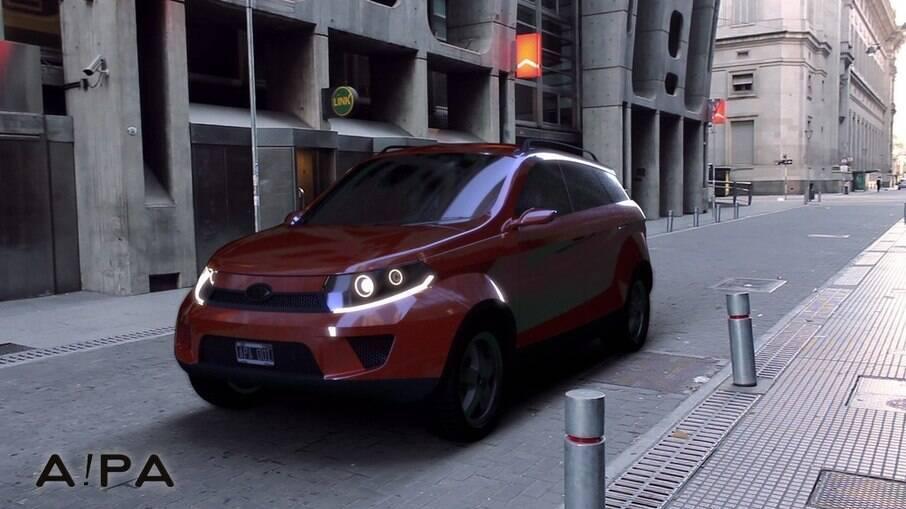SUV A!PA é um dos conceitos que aparecem no site da Bravo Motor