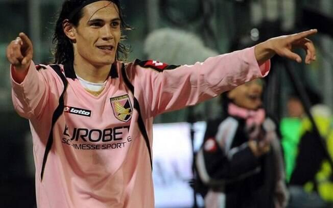 Cavani foi um dos grandes jogadores que ganharam visibilidade no Palermo