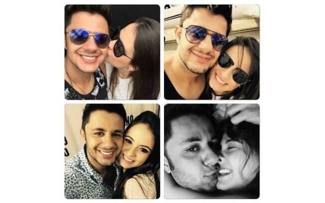 Cristiano Araújo e Allana Coelho. Foto: Reprodução/Instagram