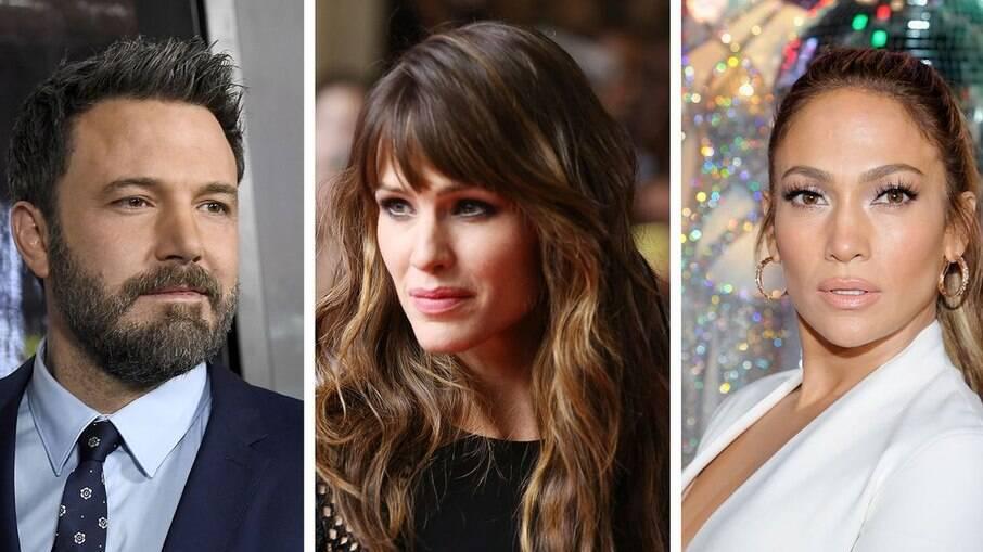 Ben Affleck, Jennifer Garner e JLO