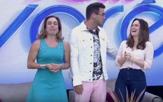 'Como é namorar o André?', perguntou Cissa Guimarães