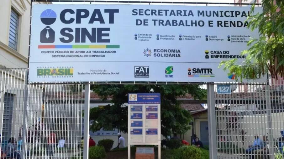 CPAT tem vagas de emprego em Campinas.