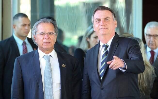 Bolsonaro reafirma lealdade a Guedes e diz que confiança está acima de tudo