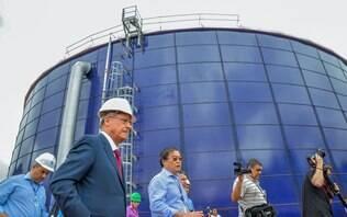 Sabesp vê risco de ações terroristas e impõe sigilo sobre dados do abastecimento - Crise da Água - iG