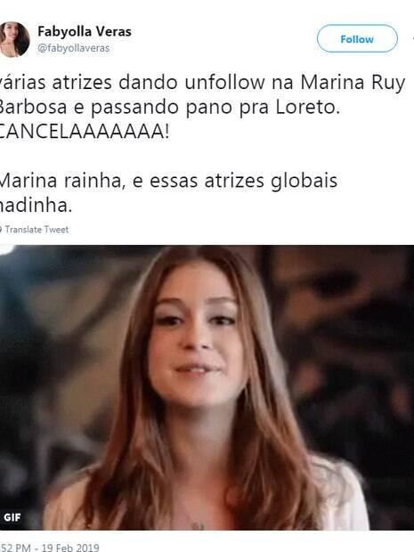 Marina Ruy Barbosa é assunto mais comentado do Twitter
