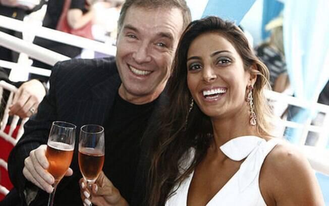 Flávia Sampaio e Eike Batista. O casal teve seu primeiro filho. Foto: AgNews