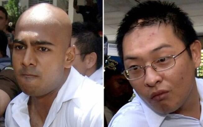 Australianos Myuran Sukumaran (esquerda) e Andrew Chan (R) deveriam ser transferidos essa semana, mas mudança foi adiada