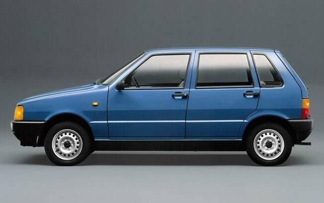 Fiat Uno Mille foi o primeiro