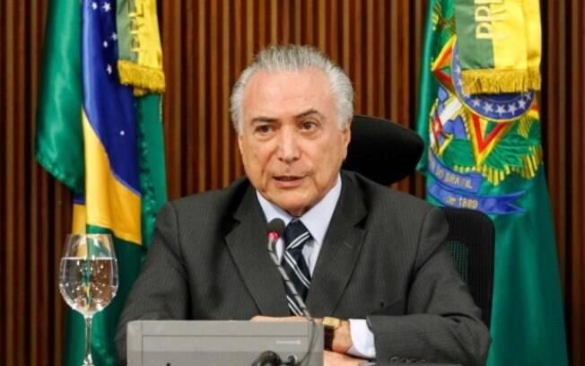 O presidente interino Michel Temer assumiu a Presidência da República no dia 12 de maio