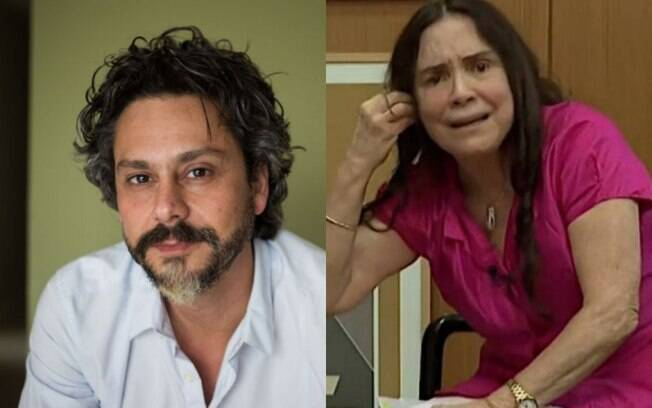 Alexandre Nero e Regina Duarte