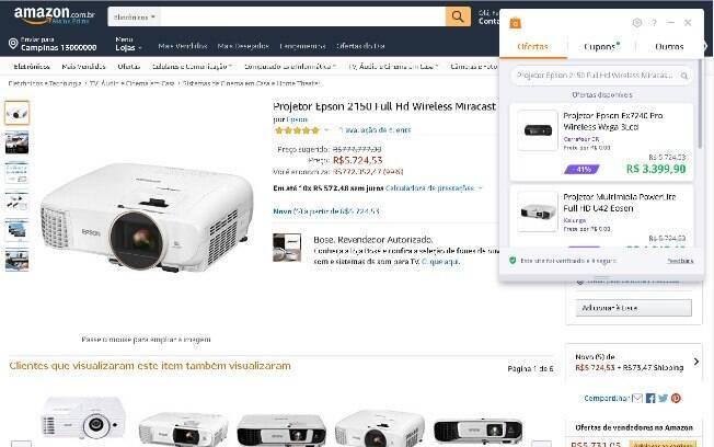 Avast SafePrice é uma das melhores extensões para comparar preços entre sites.
