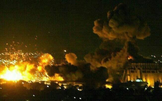 O presidente norte-americano, Donald Trump, anunciou um ataque à Síria em conjunto com França e Reino Unido