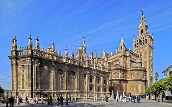 Catedral de Sevilha foi construída entre os séculos 13 e 16