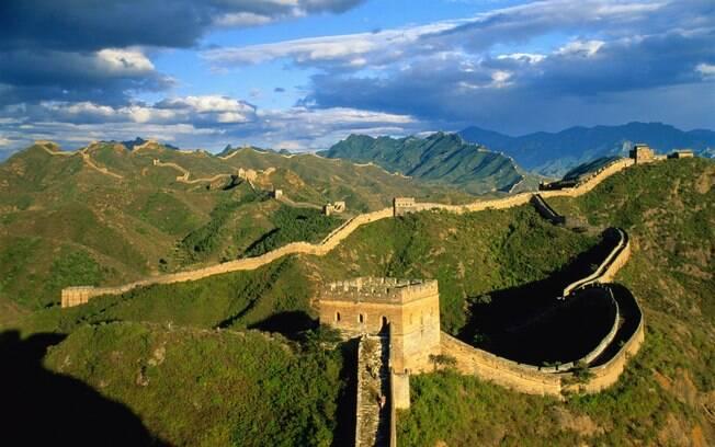 Passeio pela Muralha da China pode durar até sete horas