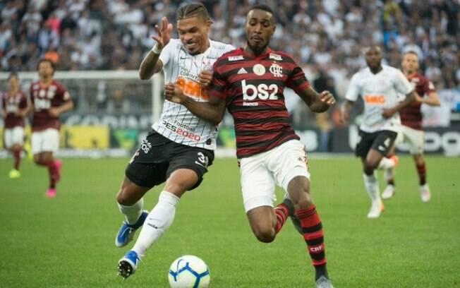 Corinthians e Flamengo empataram em Itaquera