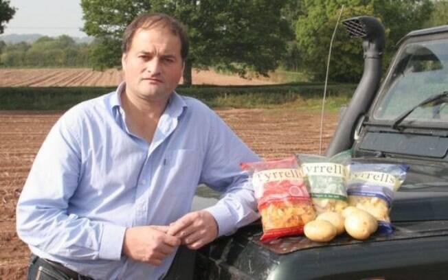 Chase vendeu a empresa de batatinhas fritas em 2008 e depois abriu um negócio de vodka própria