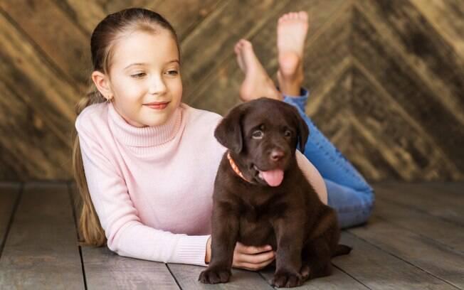 Crianças optam por animais de estimação em vez de irmãos.