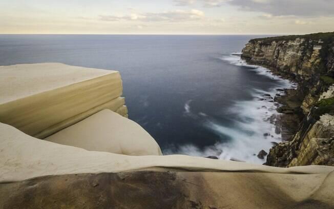 A rocha, que se tornou um ponto turístico da Coast Track, já foi palco de mais de uma morte nos últimos anos