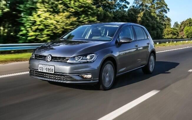 VW Golf fabricado no Brasil tem uma média de desvalorização mais alta que os que vieram importados