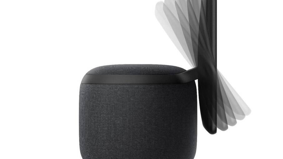 Amazon Echo Show 10 se movimenta para seguir o usuário