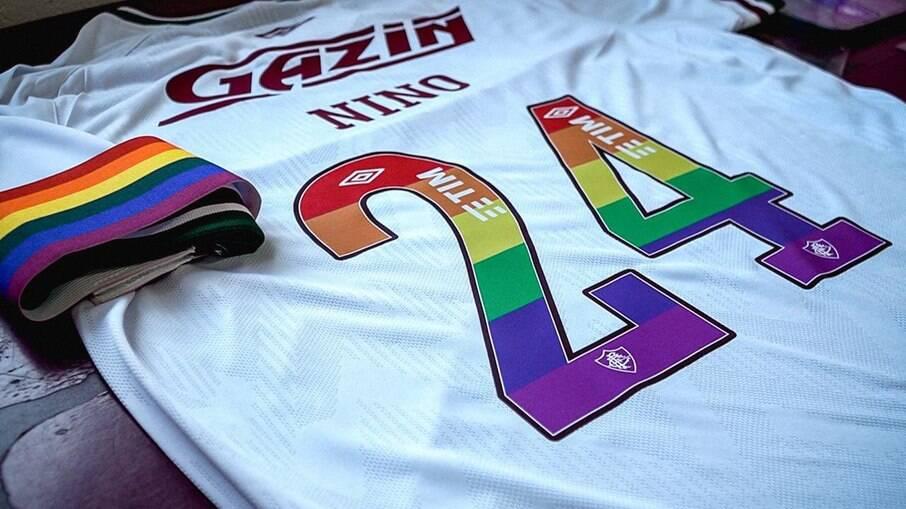 Nino foi capitão e usou a camisa 24