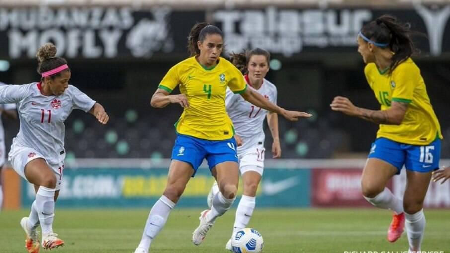Brasil x Canadá Feminino