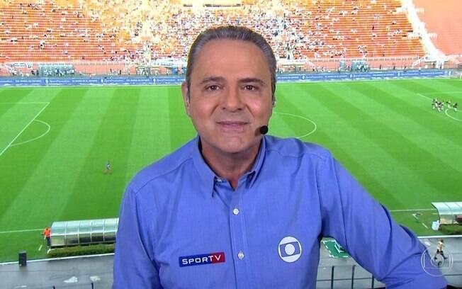 Narrador Luis Roberto%2C do Grupo Globo