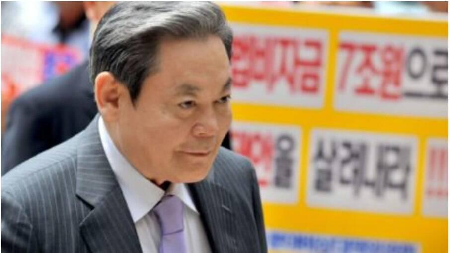 Lee Kun-hee, era o homem mais rico da Coreia do Sul
