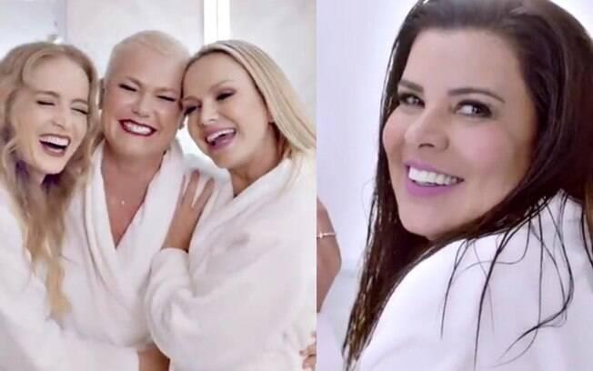 Angélica, Xuxa, Eliana e Mara Maravilha