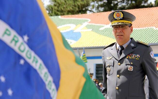 Comandante-geral da PM de São Paulo, Coronel Nivaldo Restivo