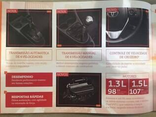 Imagem do catálogo vazado na internet mostra o que vai mudar no Etios 2017