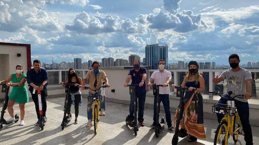 Startup Mobye realiza parceria com os gigantes do mercado de mobilidade elétrica Yellow e Grin