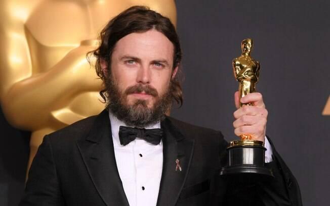 """Casey Affleck foi premiado no ano como melhor ator em """"'Manchester à beira-mar"""", filme da Amazon"""