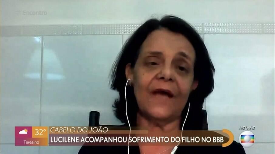 Lucilene comentou sobre a cena entre Rodolffo e João