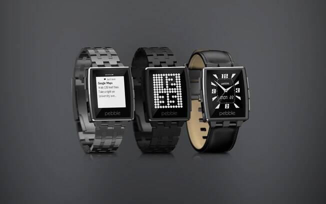 f4661119c4d A Pebble apresentou a segunda geração do seu relógio