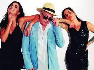 """""""Éolo"""". Novo disco da banda, formada pelas baianas Lan Lan e Emanuelle Araújo, e pelo carioca Toni Costa, mistura samba, xote, baião, reggae. rock, funk e outros gêneros"""