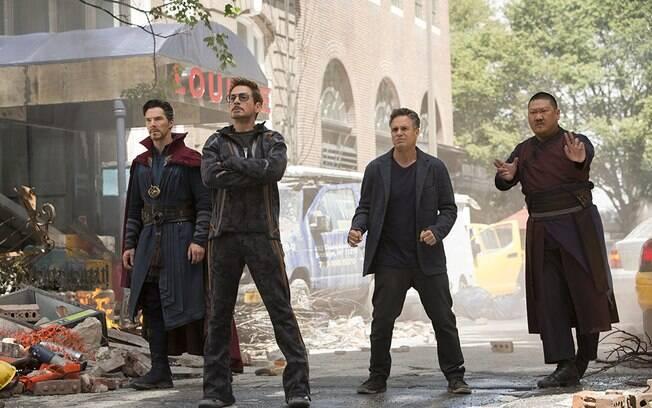 Tony Stark e Strange respondem por alguns dos melhores momentos de Guerra Infinita