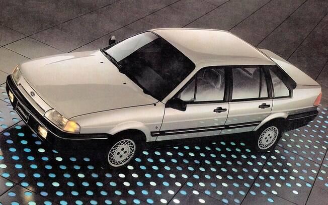 Ford Versailles: sedã era feito na linha de montagem da Volkswagen, de onde também saia o Santana