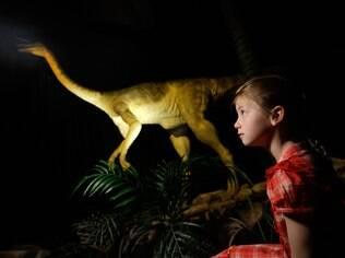 Museu de História Natural de Londres tem acervo de esqueletos de várias espécies de dinossauros