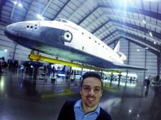 Estudante está no país desde junho, mas passou a integrar o projeto espacial em novembro