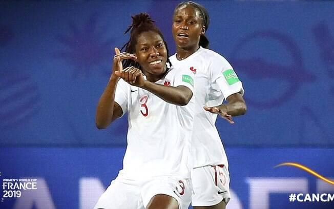A seleção do Canadá derrotou Camarões pela Copa do Mundo Feminina.