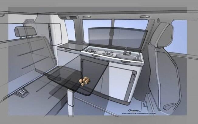 VW Transporter terá área interna melhorada e com a inclusão de uma série de equipamentos sofisticados